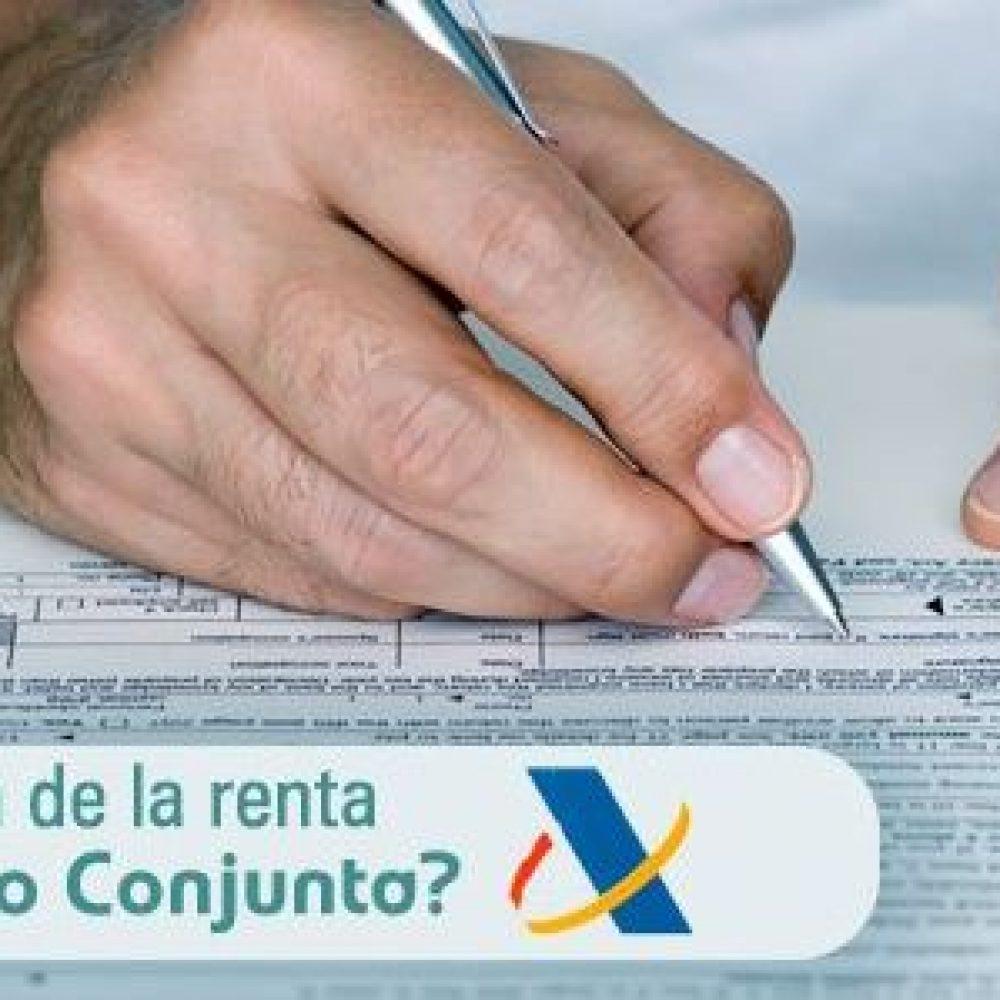 Declaración de renta individual o conjunta