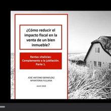 ¿Como reducir el impacto fiscal en la venta de un inmueble?